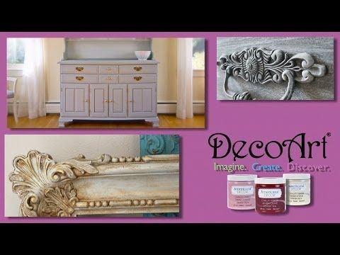 Vopsea decorativa pentru mobilier si DIY Americana Decor Chalky Finish   Craft Mall blog
