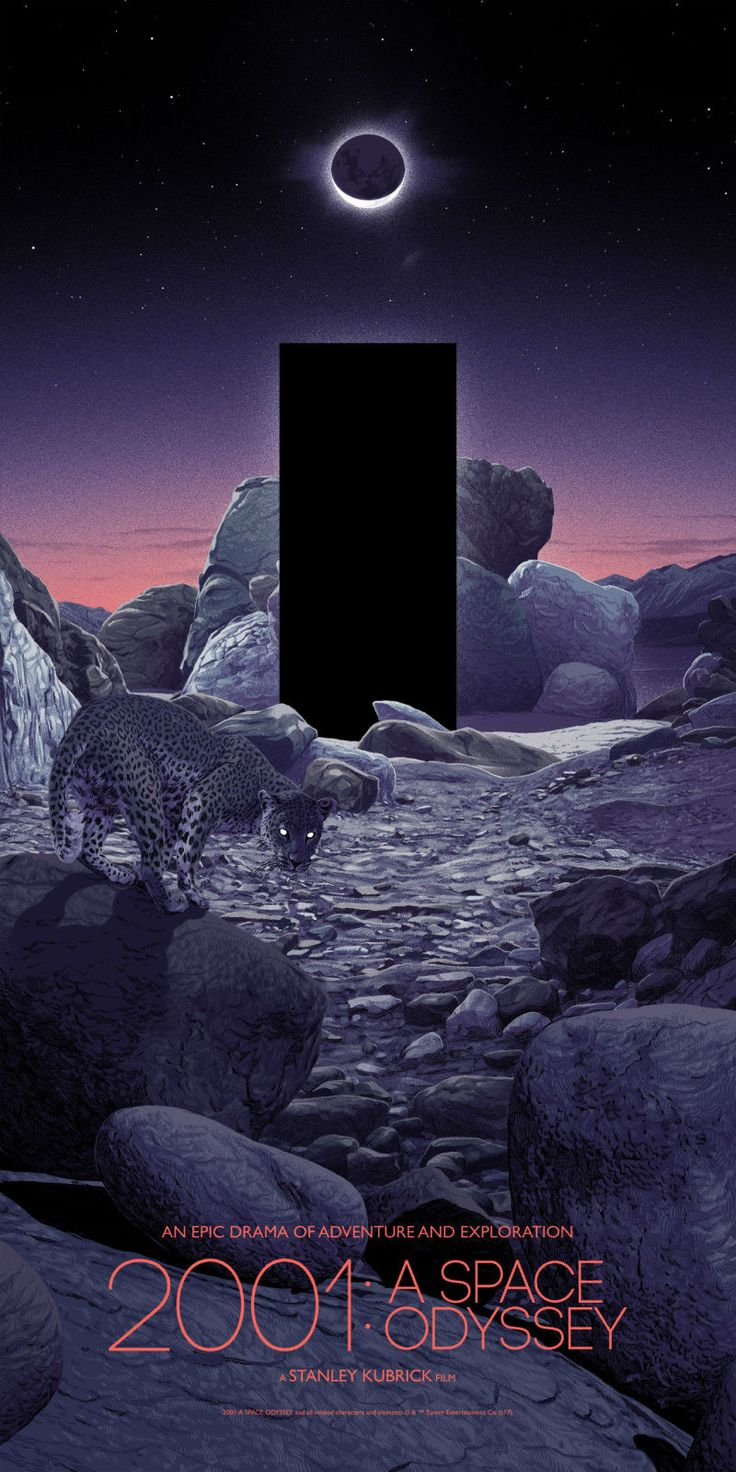 This Striking New 2001: A Space Odyssey Art Is Full of Stars