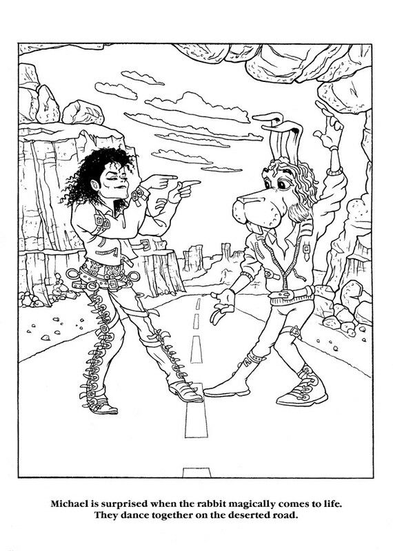 Speed Demon Michael Jackson Art Coloring Books Coloring Pages