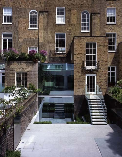 Hanover Terrace Residence designed by Belsize Architects.