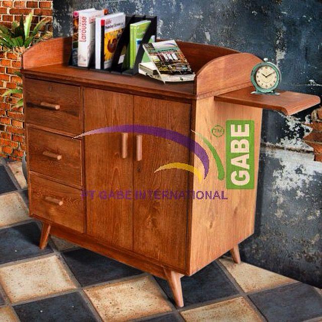 #sideboard #vintage #style made from #teakwood #gabeinternational #production #fenomenal #design #furnituretoday more peiducts visit www.gabeart.com