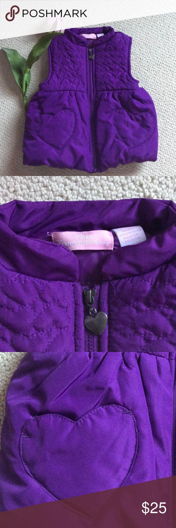 Kiddo Headquarters Purple Bubble Vest 💜 Purple Bubble Vest with heart pockets 💜 by Kiddo Headquarters- like new! Kiddo Headquarters Jackets & Coats Vests