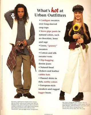 Fall 1993 Urban Outfitters Ad   90's love   Fashion, 2000s ...