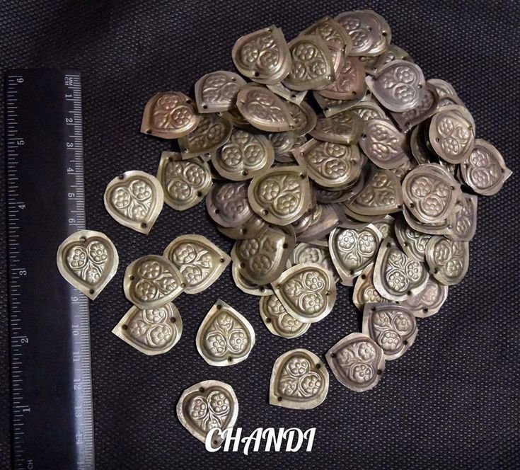 55 Medalion TURKAMAN Coins TribalFusion Gypsy Bellydance Jewelry Findings Brice