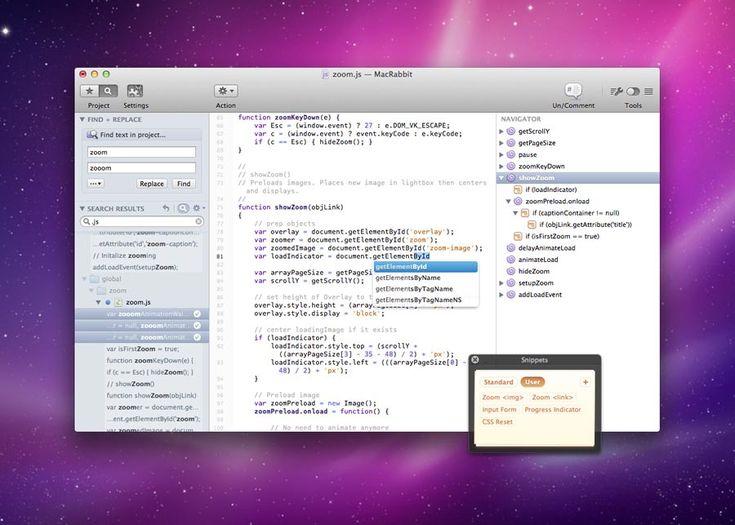 MacRabbit - Espresso - The Web Editor