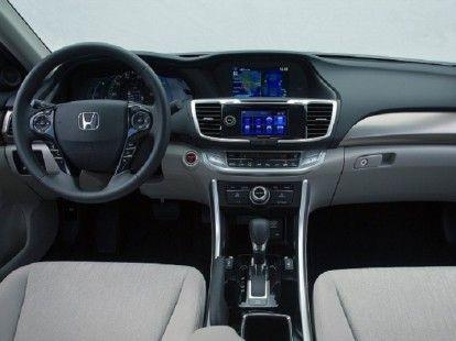 Interior of 2016 Honda Accord Coupe #honda #accord #coupe #sedan http://autocarsblitz.com/2016-honda-accord-coupe-redesignspyshotspecs/