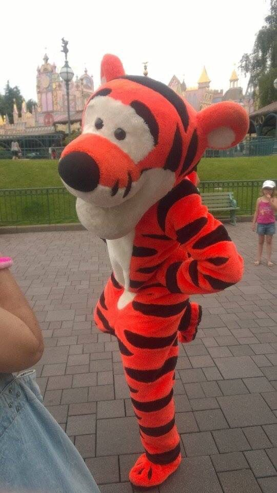 Tigger in Disneyland Paris, France