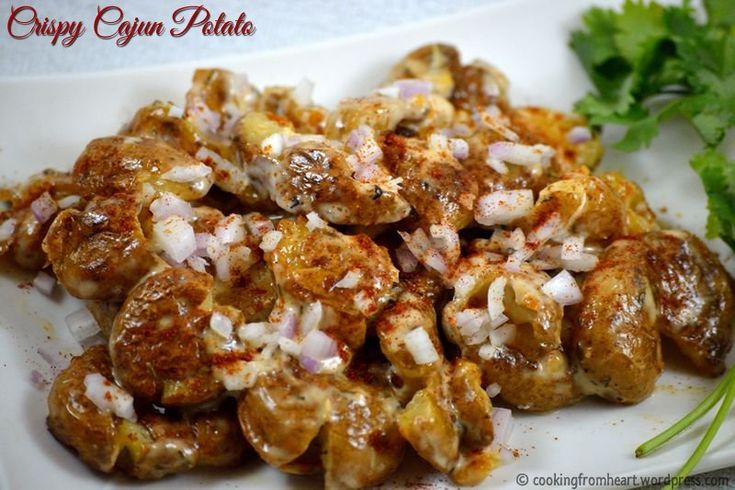 Crispy Cajun Potato | Barbeque Nation Style | Restaurant Food at Home