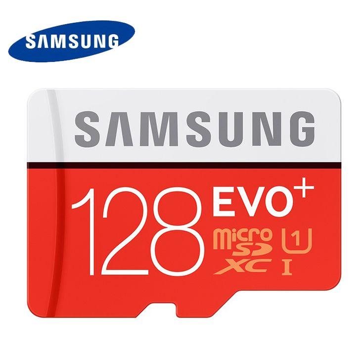 Samsung 32g 64g 128g tf80m kelas kartu memori micro sd sdhc sdxc evo + uhs kelas 10 micro sd c10 tf trans flash microsd max 80 MB/s