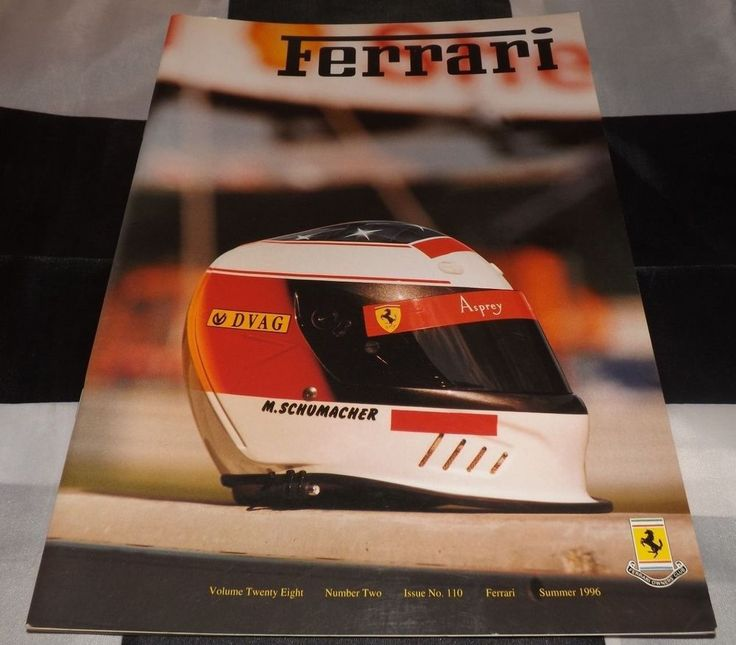 FERRARI OWNERS CLUB MAGAZINE SUMMER 1996 NO 110 LE MANS F40 GT LM 33SP F310 F1