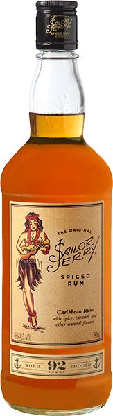 Sailor Jerry Spiced Navy Rum (750 ML)