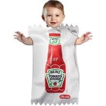 a ketchup packet!Halloweencostumes, Baby Costumes, Baby Halloween Costumes, Baby Buntings, Kids, Heinz Ketchup, Baby Boy, Ketchup Packets, Costumes Ideas