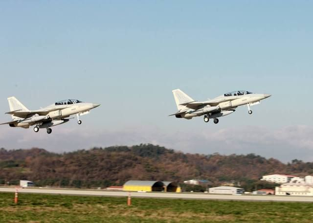 FA-50PH Korean fighter jets, Philippines Air Force