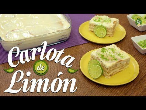 ¿Cómo preparar Carlota de Limón? - Cocina Fresca - YouTube