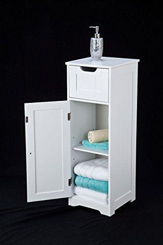 Art Exhibition  SLIMLINE white wood slimline storage cabinet on https Small Bathroom