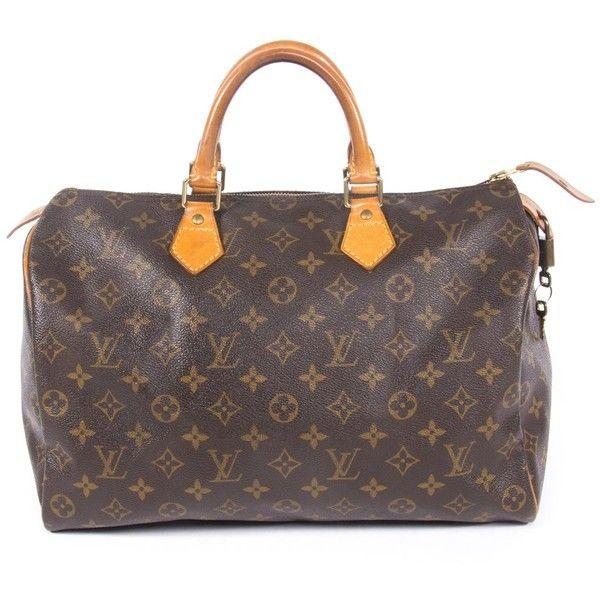 Louis Vuitton Speedy 35 (1.745 BRL) ❤ liked on Polyvore featuring accessories, eyewear, sunglasses, monogrammed glasses, vintage sunglasses, brown glasses, louis vuitton and vintage eyewear