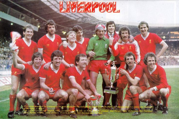 The history of liverpool fc in pictures 1981 82 team for Buro team 82