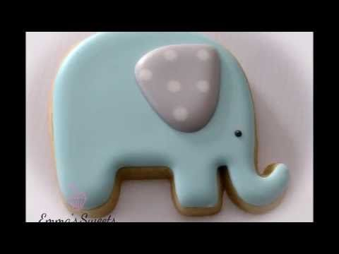 Elephant Cookies by Emma's Sweets   Cookie Connection