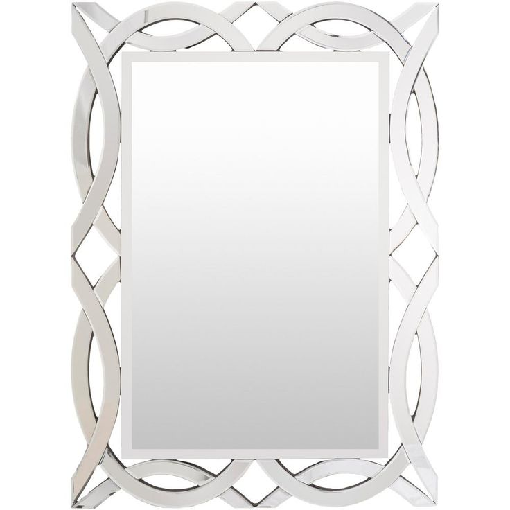 Veldon 47.24 in. x 33.86 in. Contemporary Framed Mirror