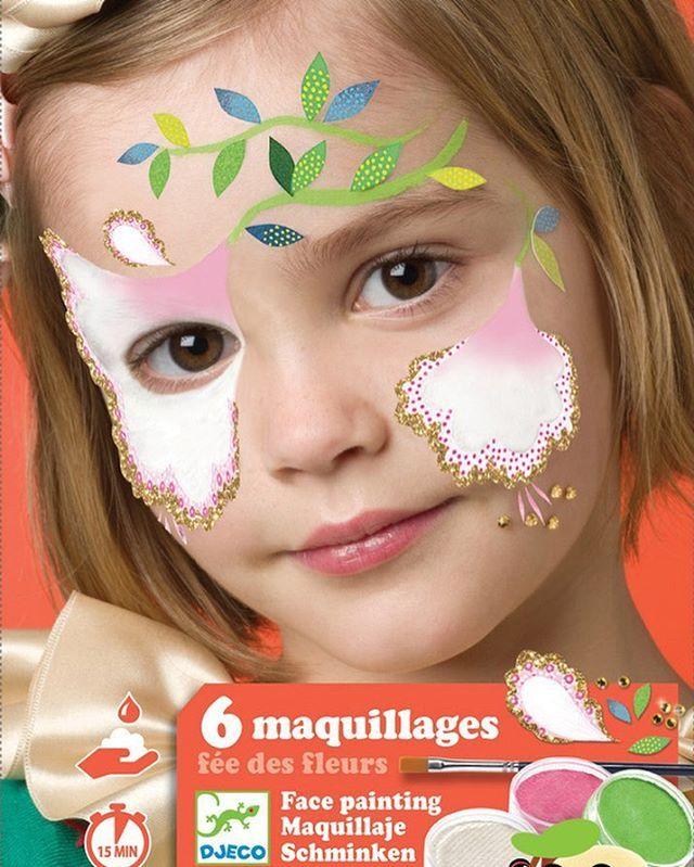No sabes pintar a un hada? No hay problema usa las plantillas y el manual paso a paso y las pintarás en un periquete y con un acabado de película.  https://cucutoys.es/djeco/1455-djeco-estuche-de-maquillaje-hadas.html  #cucutoys #djeco #maquillaje #hadas #disfraces #carnaval