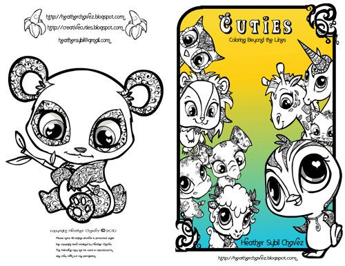 20 Best Coloring Pages Cuties Images On Pinterest
