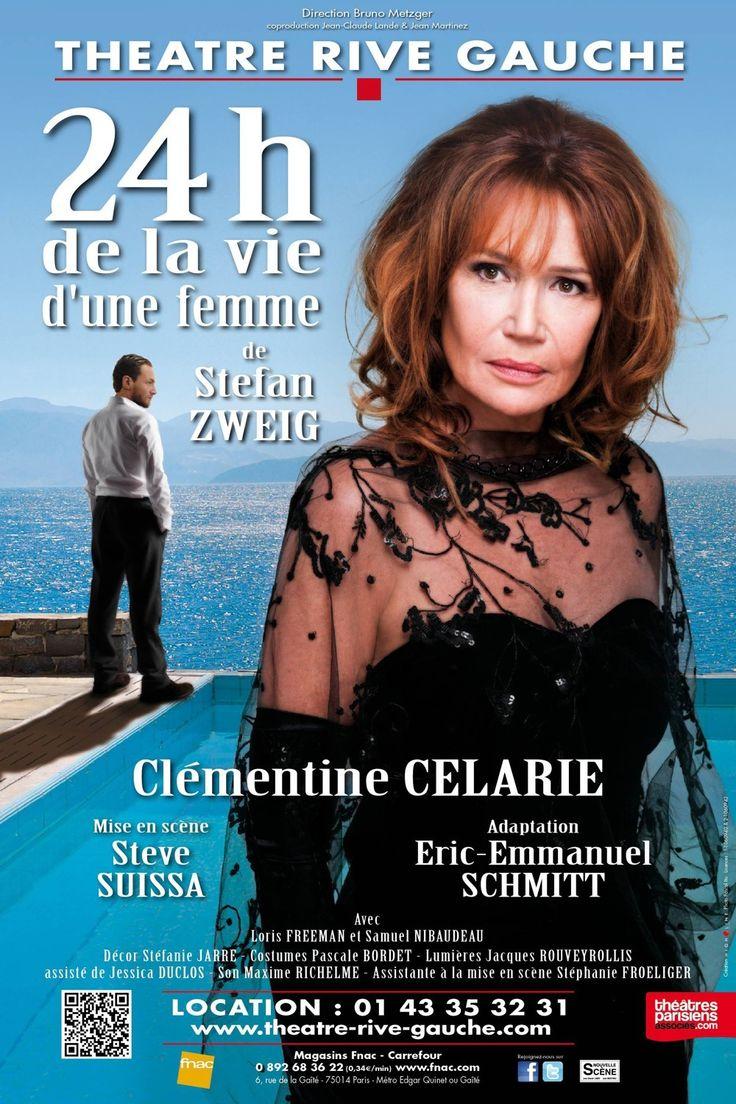 24h De La Vie D'une Femme Avec Clementine Celarie - Théâtre Rive
