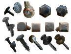Decorative lag screws and bolts, square head lag screws and bolts, hex head lag screws