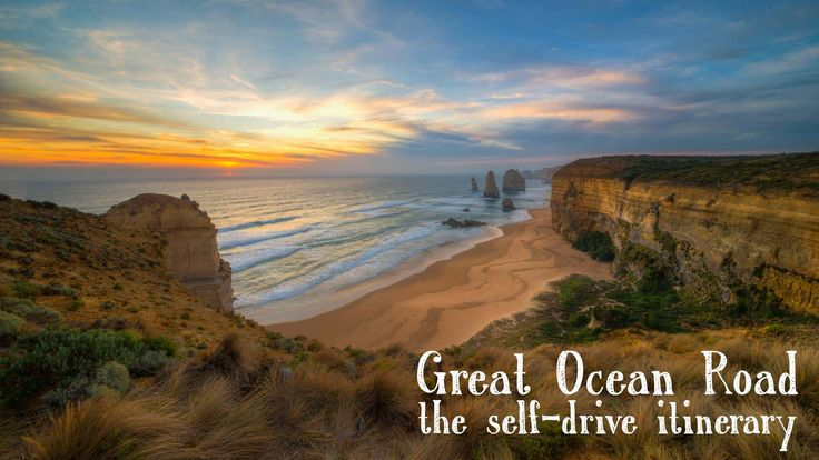 The Great Ocean Road self drive itinerary including the London Bridge and the 12 Apostles