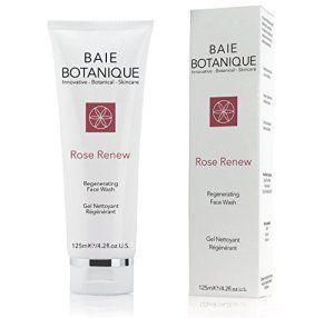 Gel Nettoyant Régénérant Rose Renew – Eau de Rose, Absolu de Rose, Huile de Graines d'églantier, MSM, Vitamine C, Thé Vert ● 98% Naturel,…