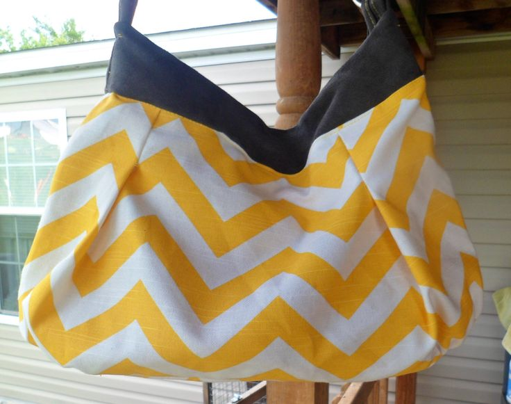 LOCKING concealed carry purse, bag quick access zipper pocket , LG purse space,yellow zigzag and grey. by yomamamadeit on Etsy https://www.etsy.com/listing/186504114/locking-concealed-carry-purse-bag-quick