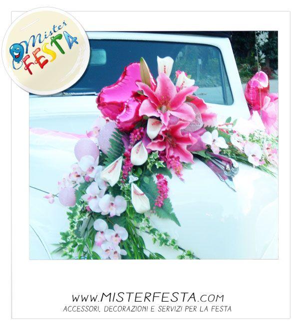 Idee floreali per la #macchina degli sposi