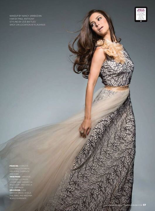 Another fab look of actress @roselyn_sanchez in #christoscostarellos styled by @stylebattles for Viva magazine (Canada)! #costarellos #celeb #madeingreece #roselynsanchez #vivamag #magazine #magazineshooting #fashion #celebrity #star #starlook #thatdress #ohsochic