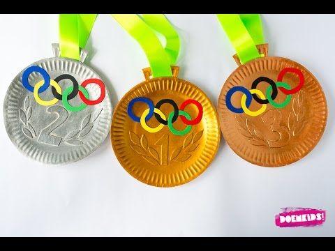 Doenkids! – Olympische medailles knutselen