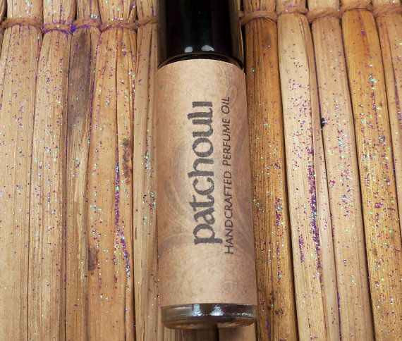 PATCHOULI PERFUME OIL 1/3 oz Roll On Scented by ScentualGoddess
