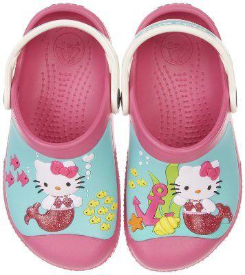 crocs 14024 Hello Kitty Clog (Toddler/Little Kid):Amazon:Shoes