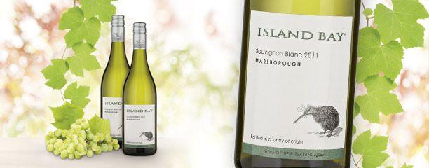 A very good bottle of Island Bay, Sauvignon Blanc - available @REWE für 5,99€
