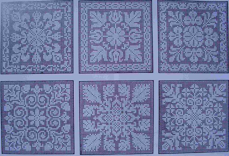 Lujo Los Patrones De Crochet Filet Libre Religiosa Bosquejo - Ideas ...