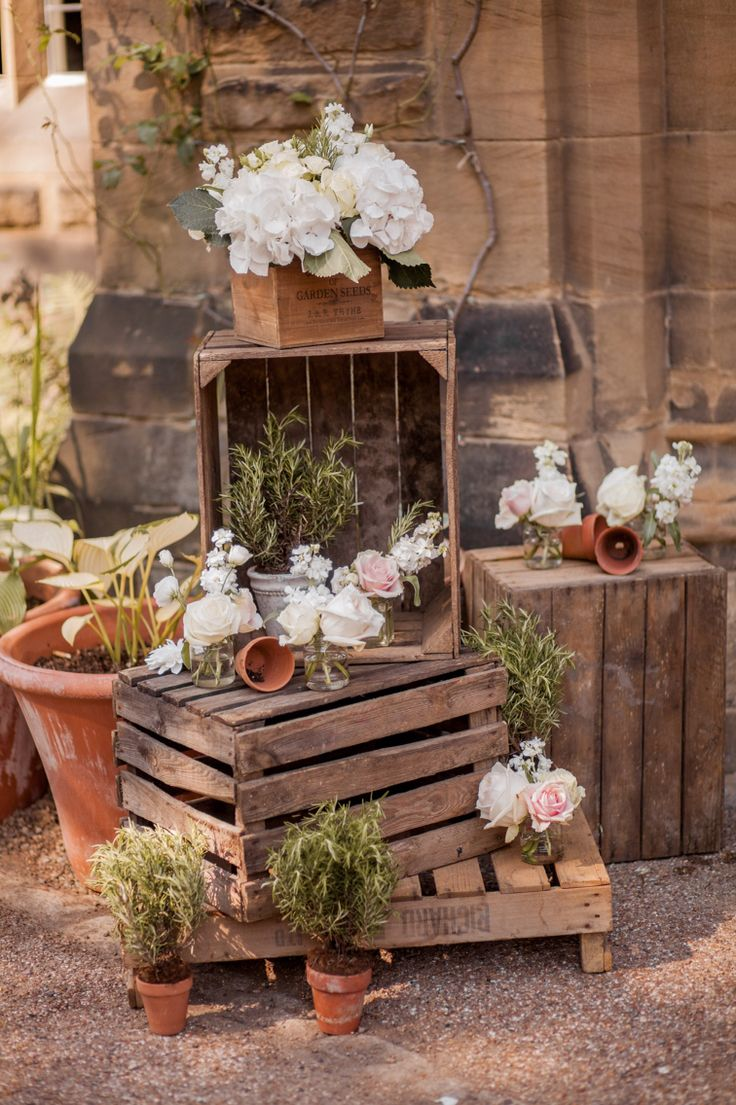 Outdoor crates Jesmond Dene House The Finishing Touch Company