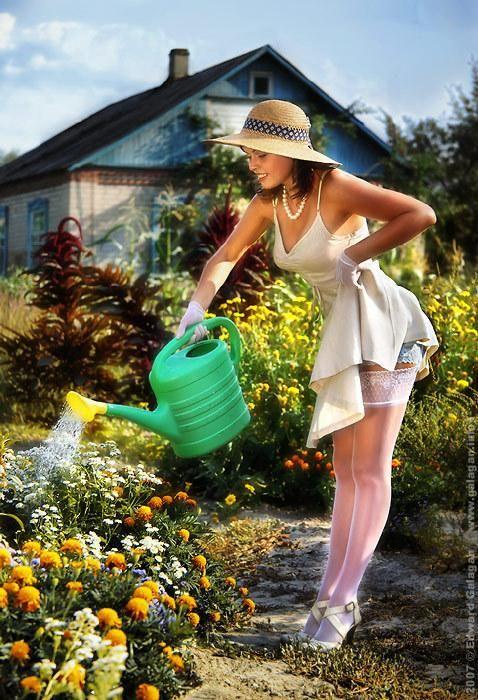 Keeping gardening real