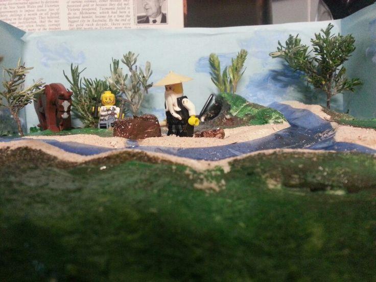 PJs diorama