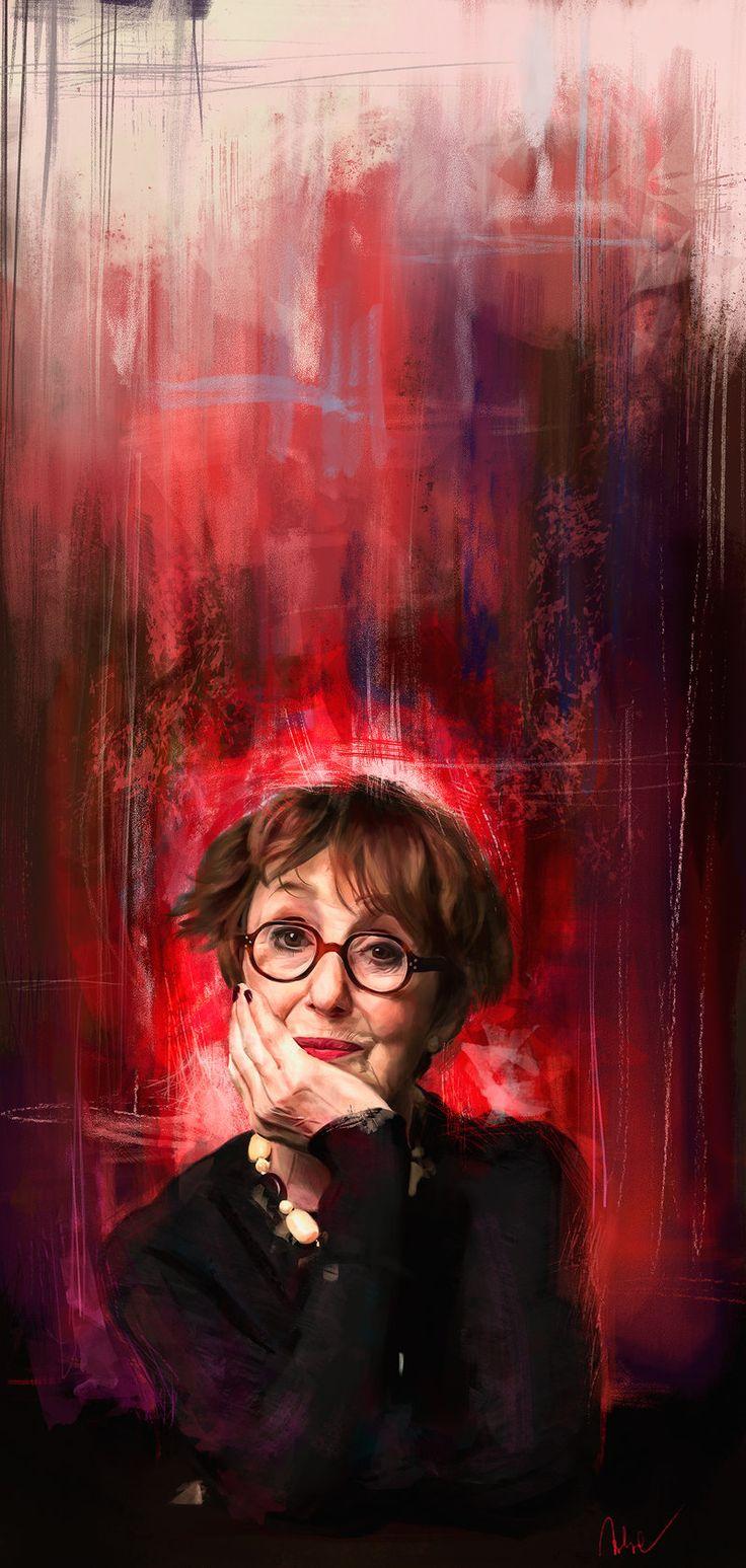 Mrs Hudson by Namecchan.deviantart.com on @deviantART