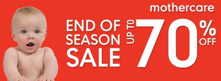 SALE up to 70% OFF at Mothercare Indonesia - Kuningan City Level 2