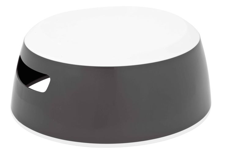 beautiful LUMA design step stool in dark grey - Opstapje voor je kleintje in donkergrijs met veilig anti slip