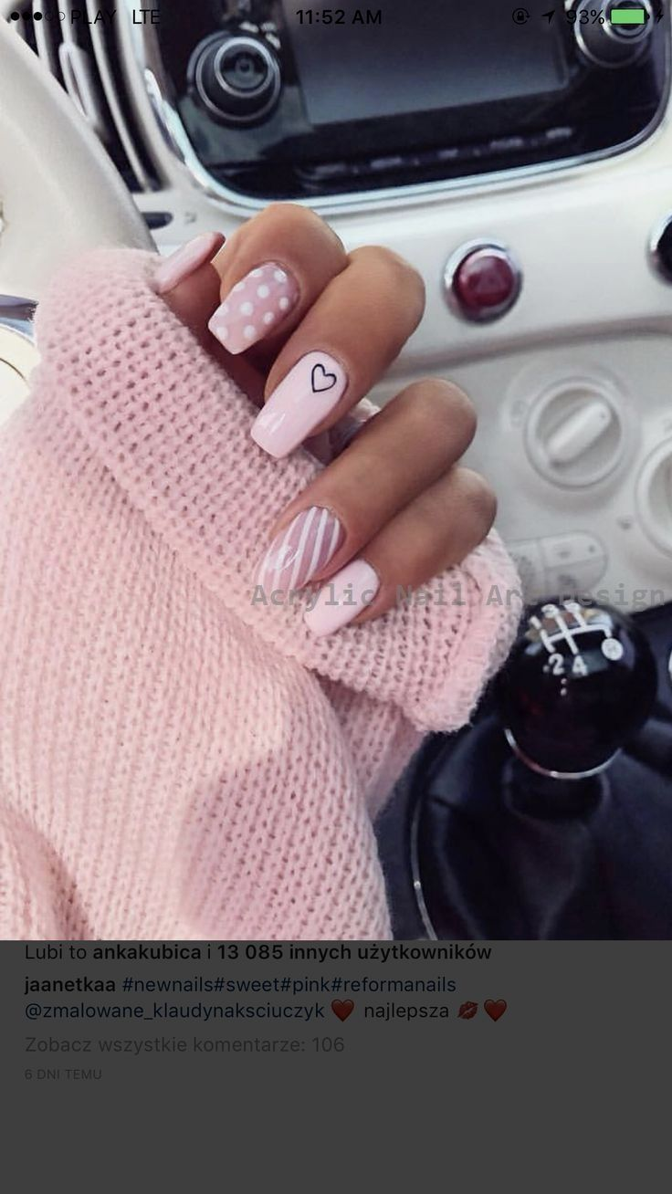 20 grandes idéias como fazer unhas de acrílico por si mesmo 1 #naildesign   – Acrylic Nail Art