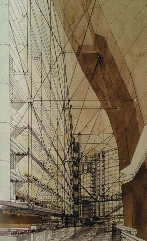 Sant Elia - Futurist Manifesto (copy just the grid pattern)