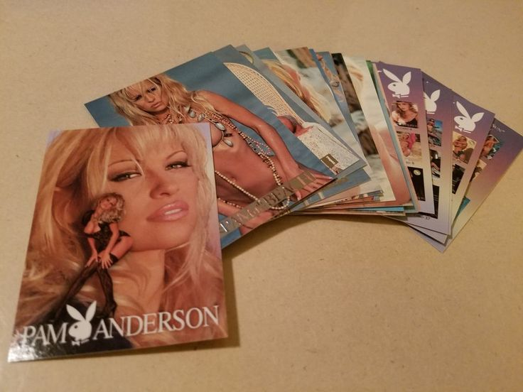 Playboy Best of Pam Anderson Chase Card Lot