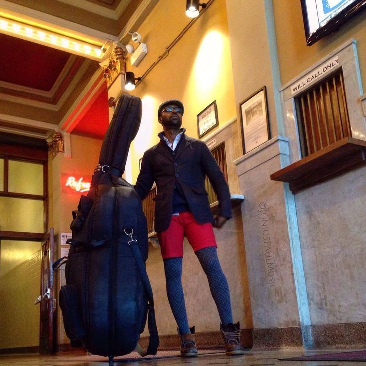 Junius Paul shows tights --  From Supreme Love at @AthenaeumTheatr a year ago today...time flies! Catch us 9/24 at... read more on Tights.fun!