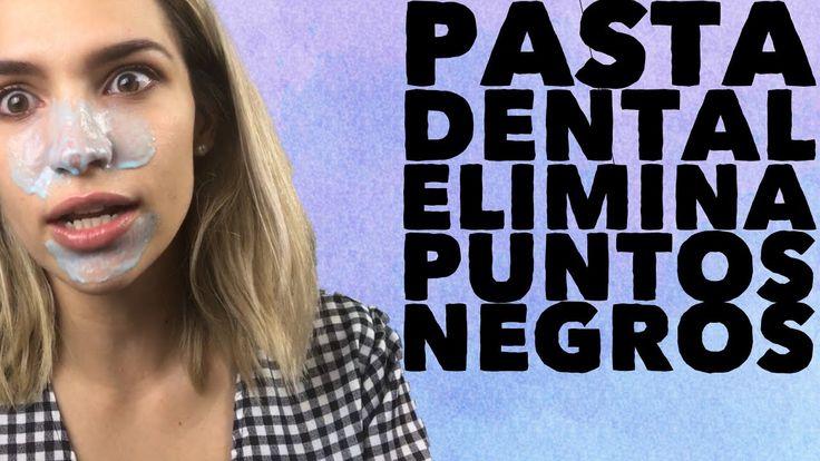 PASTA DENTAL, ELIMINA PUNTOS NEGROS! 😱