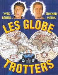 """""""Les Globes Trotteurs"""" (1966) - Acteurs principaux : Yves Rénier, Edward Meeks"""