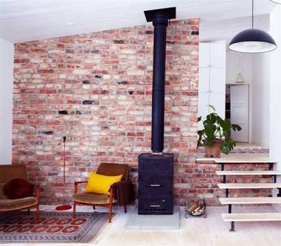 recycle brick feature wall - Google Search